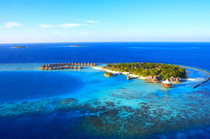 Maldives-Male, Hôtel Hôtel Baros Maldives 5*