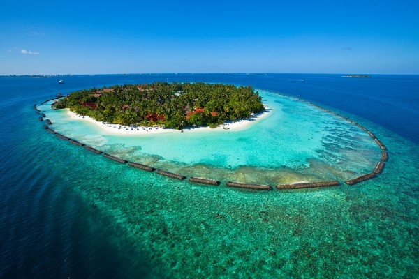 Vue aérienne - Kurumba Maldives Hôtel Kurumba Maldives5* Male Maldives
