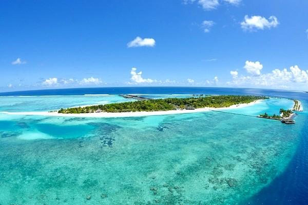 Vue aérienne - Paradise Island Resort Hôtel Paradise Island Resort5* Male Maldives