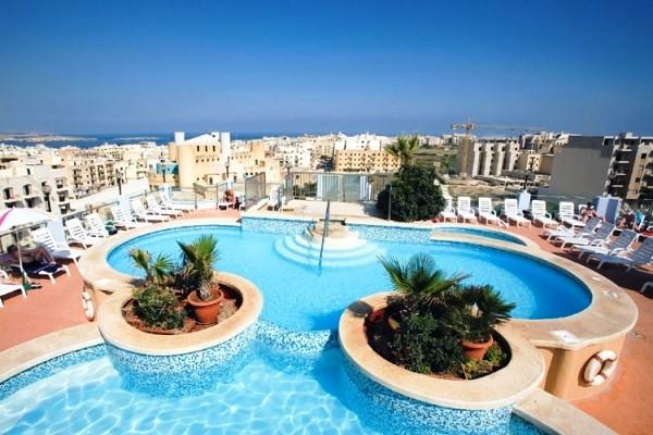 Vol Hotel La Valette Malte