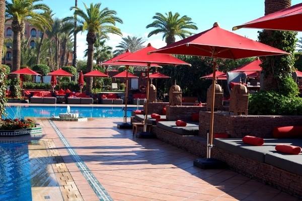 Piscine - Sofitel Marrakech Lounge And Spa Hôtel Sofitel Marrakech Lounge And Spa5* Marrakech Maroc