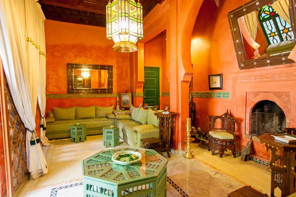 Salon - Ravel Riad Ravel Marrakech Maroc