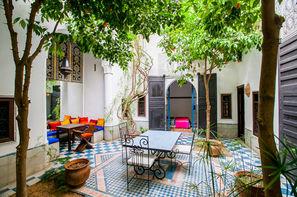 Maroc-Marrakech, Riad Dar Naima