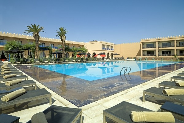 Hotel adam park and spa marrakech maroc promovacances for Piscine demontable maroc