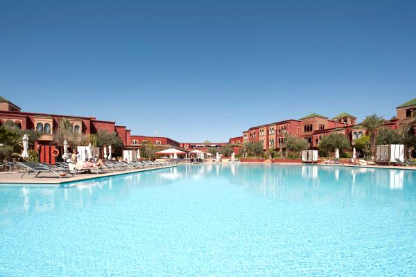 Eden Andalou - piscine - Eden Andalou Hôtel Eden Andalou5* Marrakech Maroc