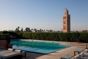 Maroc-Marrakech, Hôtel Les Jardins de la Koutoubia 5*