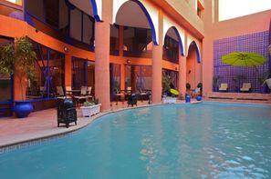 Maroc - Marrakech, Hôtel Les Trois Palmiers