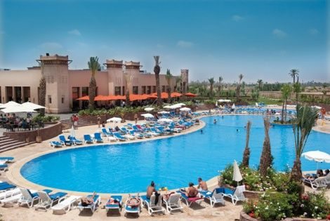 Hotel marmara dar atlas marrakech maroc promovacances for Piscine demontable maroc