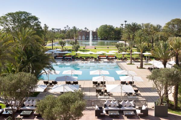 Piscine - Pullman Marrakech Palmeraie Resort and Spa Hotel Pullman Marrakech Palmeraie Resort & Spa5* Marrakech Maroc