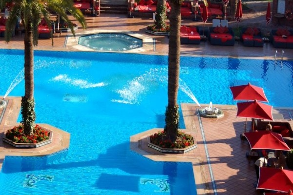 Hotel sofitel marrakech palais imperial marrakech maroc - Piscine sofitel marrakech ...