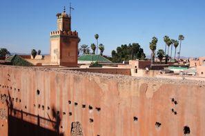 Maroc - Marrakech, Hôtel Riad Suliman