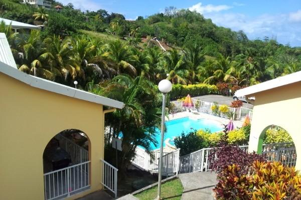 Façade - Villa Bleu Marine Résidence hôtelière Villa Bleu Marine Fort De France Martinique