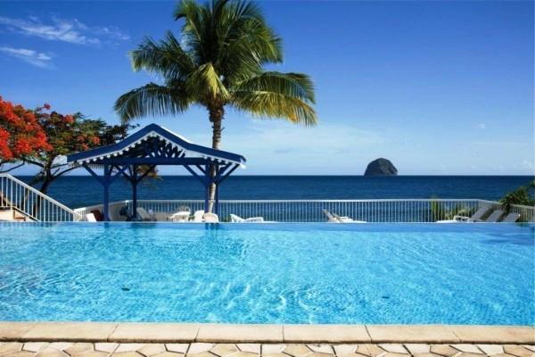 Piscine - Diamant Beach Résidence hôtelière Diamant Beach2* Fort De France Martinique