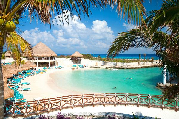 Vue sur la plage de l'hôtel - Occidental at Xcaret Destination Hôtel Occidental at Xcaret Destination5* Cancun Mexique