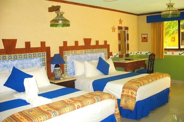 Chambre Hôtel Las Golondrinas3* Cancun Mexique