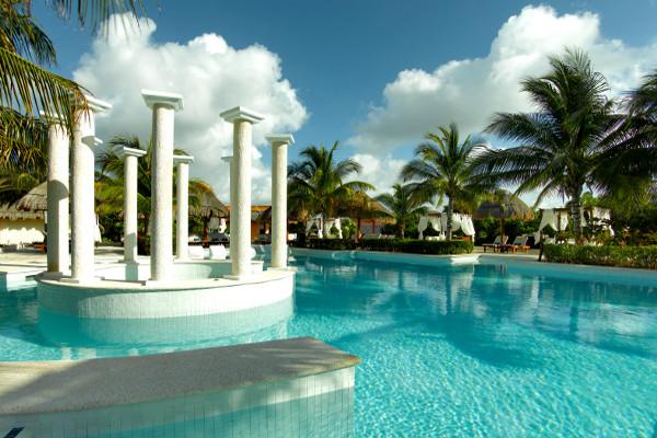 Piscine - Grand Palladium Colonial & Kantenah Resort & Spa Hôtel Grand Palladium Colonial & Kantenah Resort & Spa5* Cancun Mexique