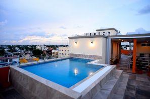 Mexique-Cancun, Hôtel Sunrise 42 Suites Hotel 3*