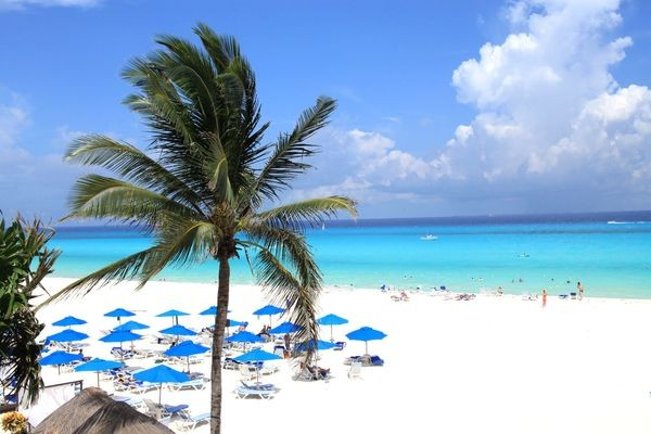 plage - Plaza Hôtel Plaza3* Cancun Mexique
