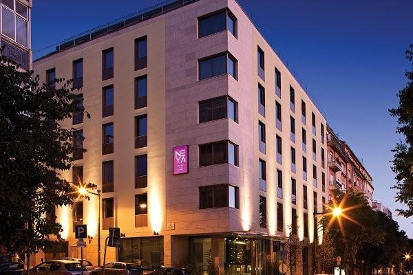 Façade - Neya Lisboa Hotel Neya Lisboa Hotel4* Lisbonne Portugal