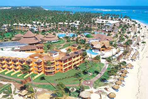 Vue aérienne - Lti Beach Resort Hôtel Lti Beach Resort4* Punta Cana Republique Dominicaine