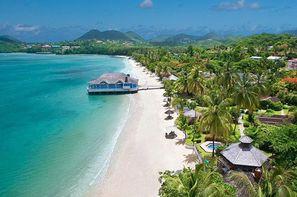 Sainte Lucie-Sainte-Lucie, Hôtel Sandals Halcyon Beach St Lucia 4*
