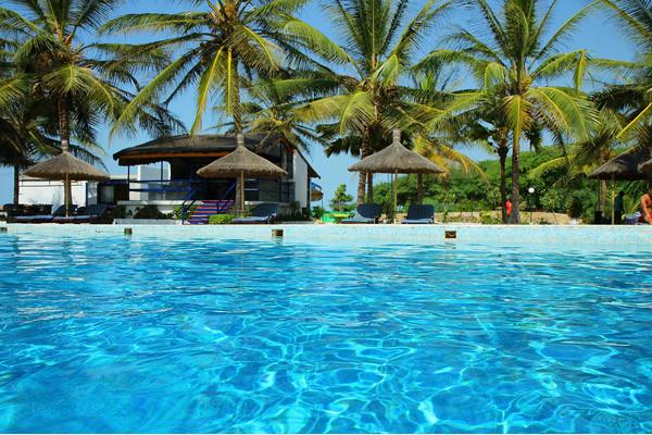 Piscine - Laguna Beach Hôtel Laguna Beach4* Dakar Senegal