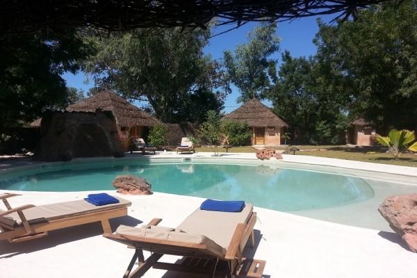 PISCINE - Lodge Relais du Saloum Hôtel Lodge Relais du Saloum3* Dakar Senegal