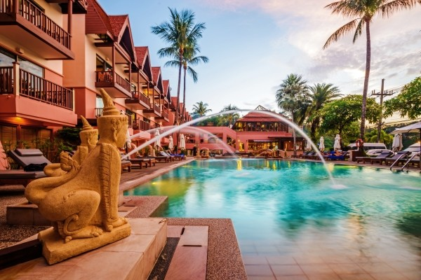 Piscine - Patong Seaview Hotel Patong Seaview4* Phuket Thailande