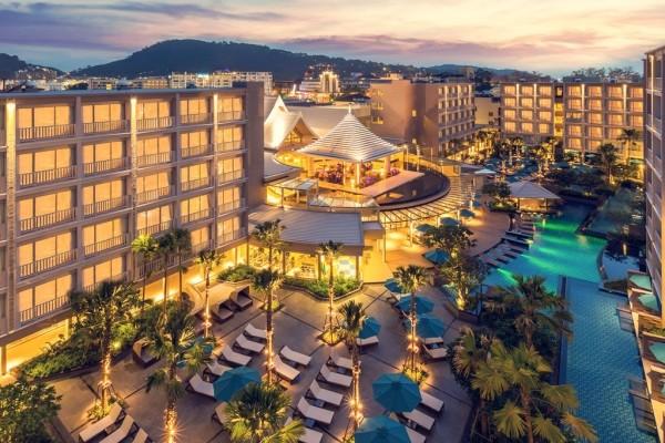 vue d'ensemble - Grand Mercure Phuket Patong Hôtel Grand Mercure Phuket Patong5* Phuket Thailande