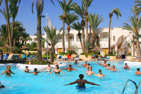 Traveltourism for Hotel zephir spa djerba promovacances