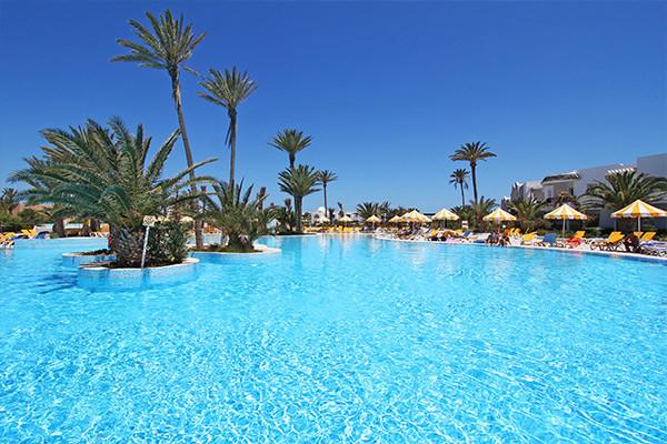 piscine - Holiday Beach Hôtel Holiday Beach4* Djerba Tunisie