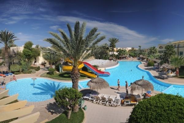 Piscine - Le Ksar Djerba Hôtel Le Ksar Djerba3* Djerba Tunisie