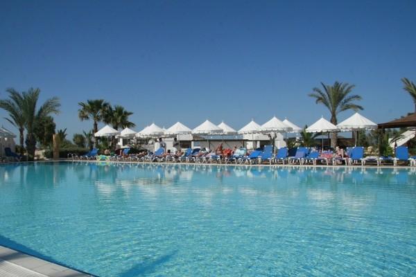 Vue de la piscine - Méninx Hôtel Méninx3* sup Djerba Tunisie