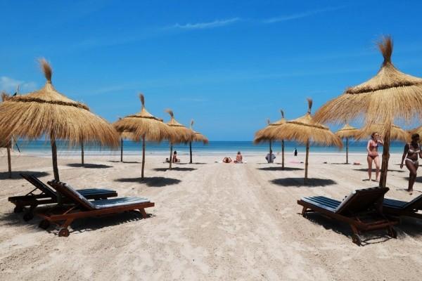 Accès plage - Green Palm Golf & Spa Hôtel Green Palm Golf & Spa4* Djerba Tunisie