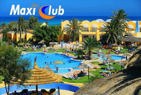 Vue Panoramique 2 - Maxi Club Palma Djerba Maxi Club Palma Djerba Djerba Tunisie