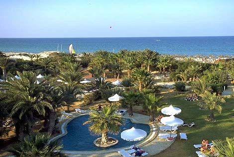 Vue Panoramique - Palm Beach Club Palm Beach3* sup Djerba Tunisie