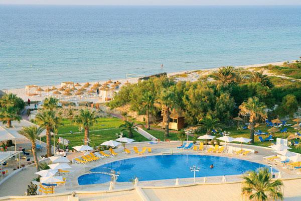 Vue sur la piscine et la mer - One Resort Monastir Hôtel One Resort Monastir4* Monastir Tunisie