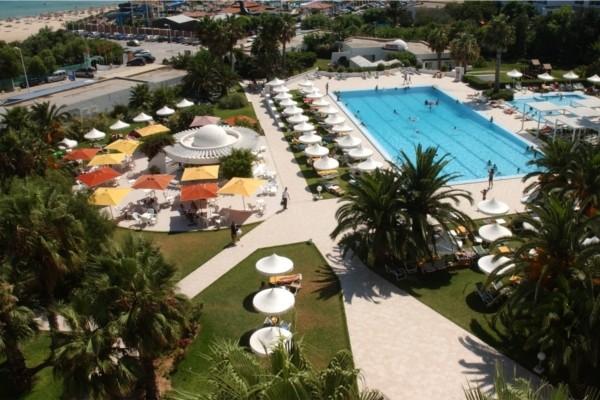 vue piscine - Hammamet Club Hôtel Hammamet Club4* Tunis Tunisie
