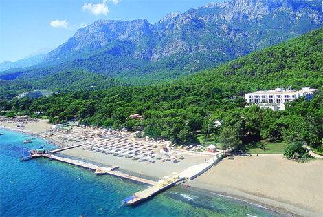 Vue d'ensemble - Otium Art Hôtel Otium Art5* Antalya Turquie