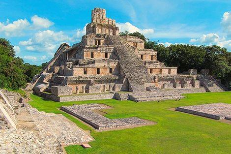Mexique-Cancun, Autotour Panoramas sur le Yucatan
