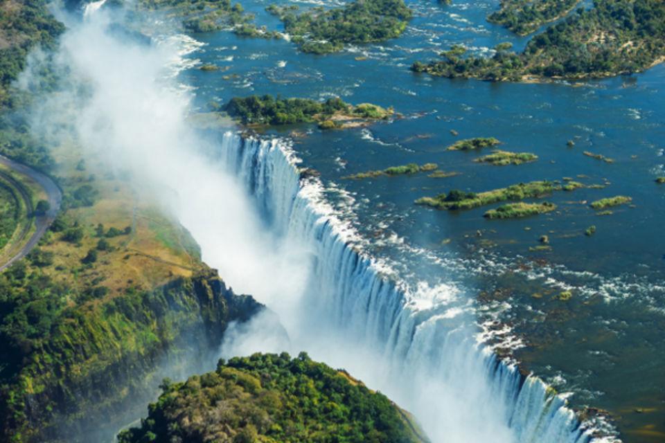 Circuit Premier Regard Afrique du Sud + Chutes Victoria Le Cap Afrique Du Sud