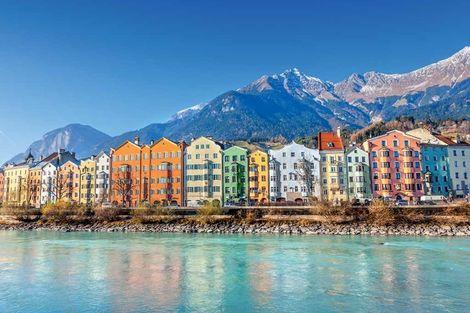 Autriche-Innsbruck, Circuit Grand tour d'Autriche en petit groupe 3*