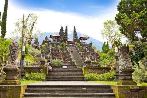 Bali-Denpasar, Circuit Jardin d'Eden 3* charme & séjour à Kuta au Fontana 4*