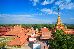 Birmanie-Mandalay, Circuit Splendeurs de Birmanie 3*