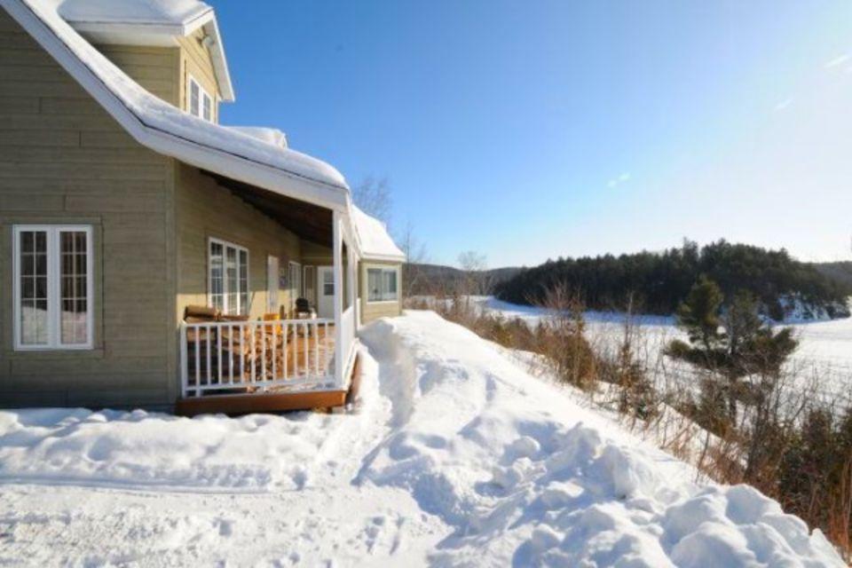 Circuit Hiver au Lac Blanc - séjour multi activités Quebec Canada