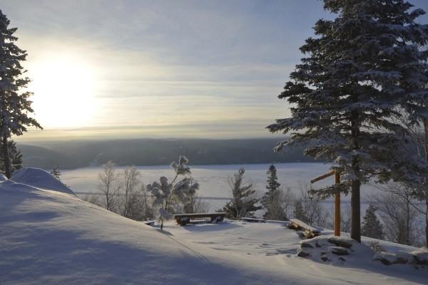 Paysage Circuit Fjords De Saguenay - Au coeur de l'hiver4* Montreal Canada