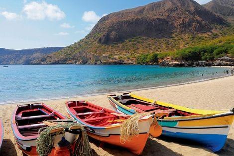 Cap Vert-Ile de Sal, Circuit Circuit Trio Capverdien Sal - Santiago - Sao Vicente