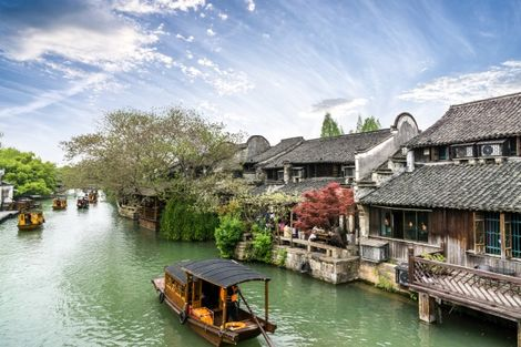 Chine-Shanghai, Circuit Merveilles de Chine 3*