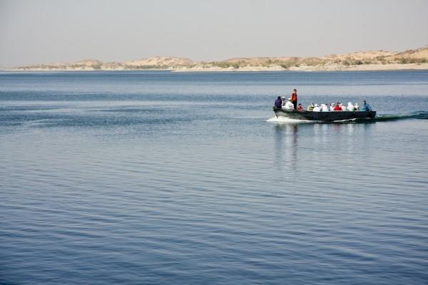 Barque sur le lac Nasser Combiné croisière et hôtel Les Incontournables Nil, Mer Rouge et Pyramides Louxor Egypte