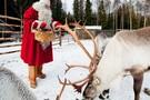 A la rencontre du Père Noël en Laponie